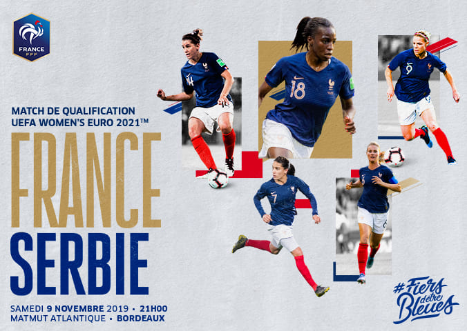 France / Serbie (Féminines) au Matmut ATLANTIQUE