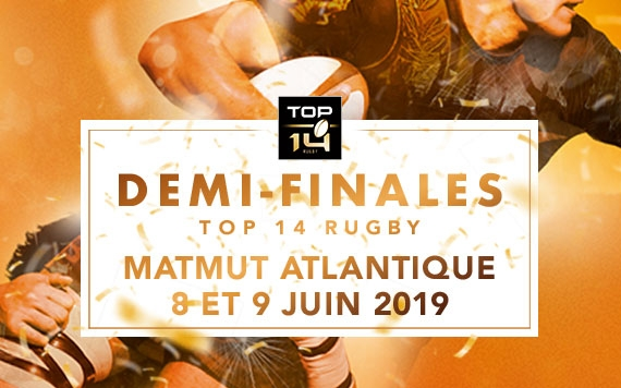 Demi-finales du TOP 14 Bordeaux Matmut ATLANTIQUE