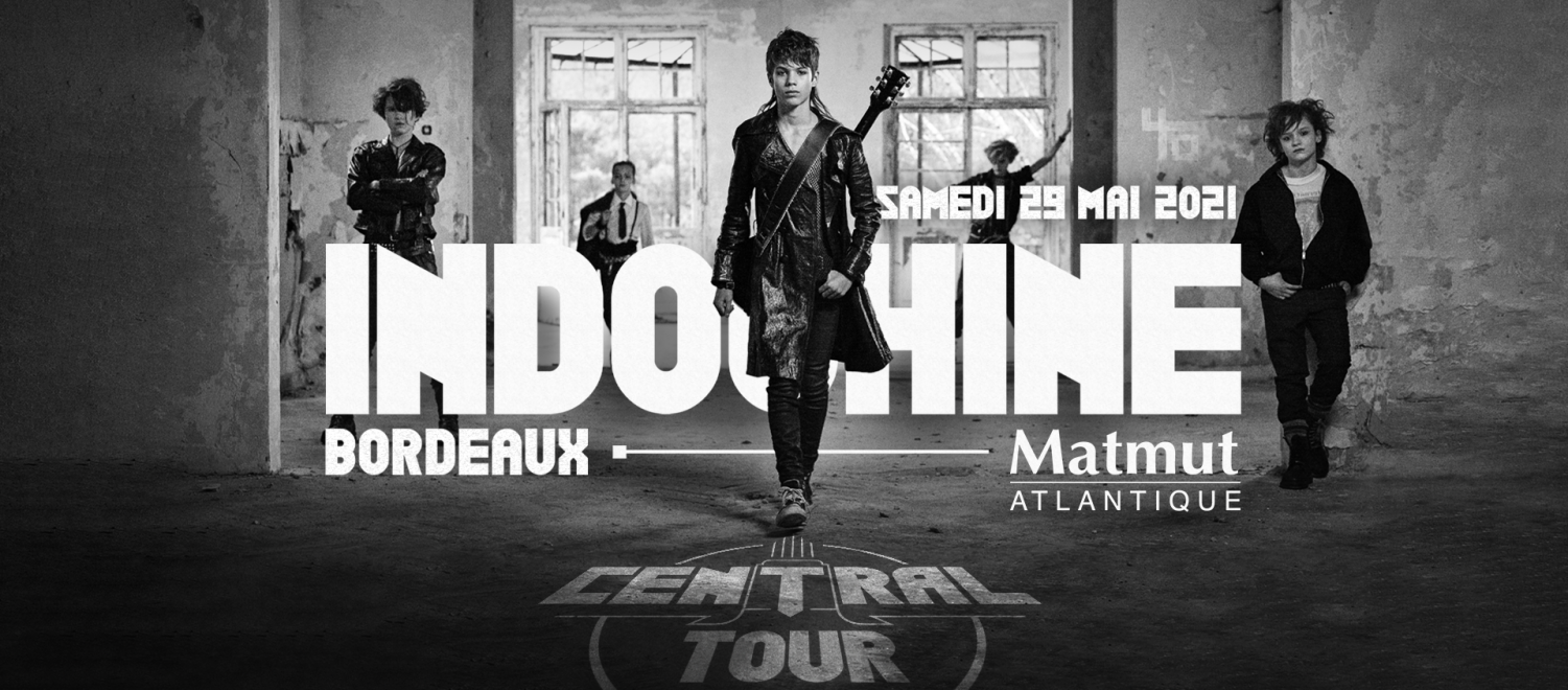 Indochine, Matmut ATLANTIQUE, Bordeaux, Billetterie,