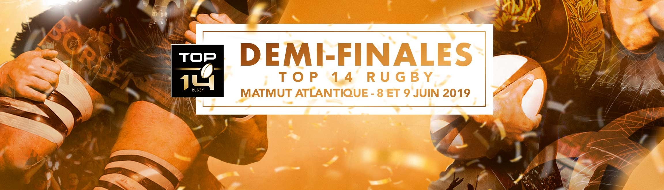 Demi-finales TOP 14 au Matmut ATLANTIQUE (Bordeaux) en 2019