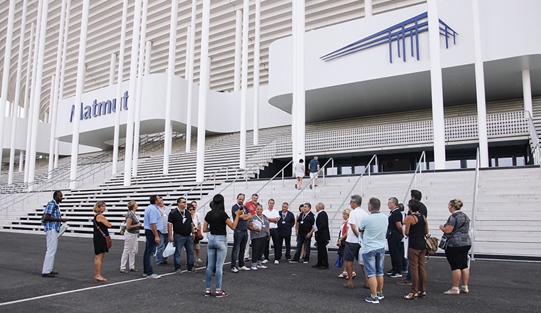 Stade Matmut ATLANTIQUE Bordeaux guided tours